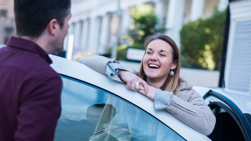 Earn driving credits when you refer friends and family to Co Cars
