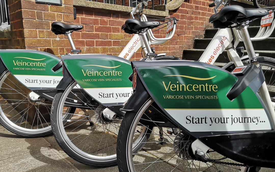 Advertising on the move with Co Bikes